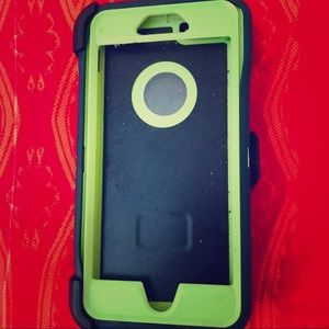 Accessories - IPhone 6S+ Otterbox Like Cover in Blue & Green